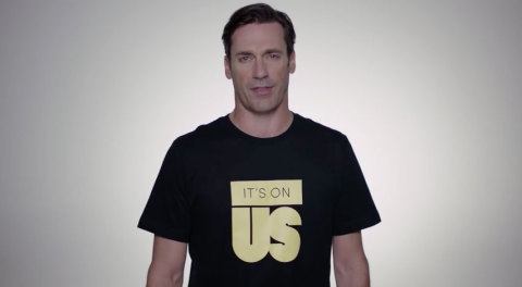 Jon Hamm wants YOU to stop rape culture
