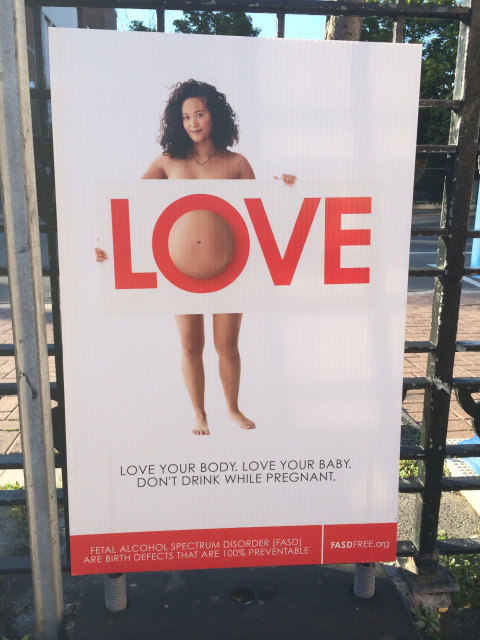 Is this anti-FASD ad about love… or shame?