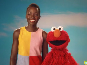 "Lupita Nyong'o Sesame Street: ""Skin comes in lots of beautiful shades and colors."""