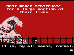 Tampon Run game – fighting menstrual taboo one 8-bit tampon at a time
