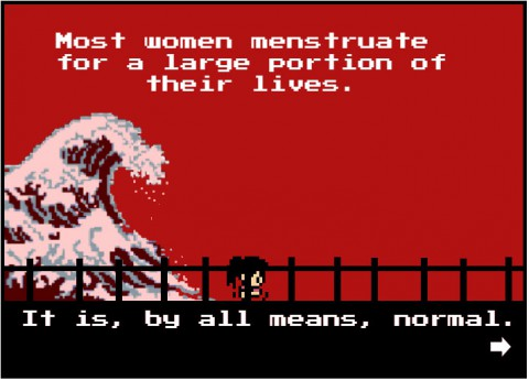 Girls who code: Tampon Run game – fighting menstrual taboo one 8-bit tampon at a time