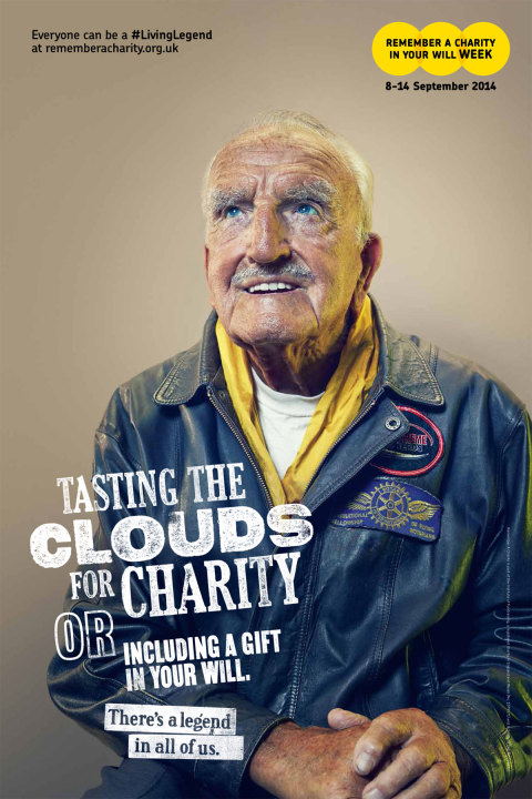 Remember a Charity: Become a living legend with your will