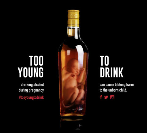 FASD too young to drink by Fabrica
