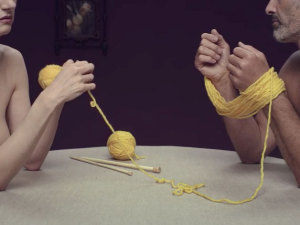 Knitting is the new sex without a condom