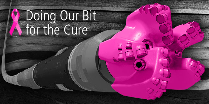 Baker-Hughes: Pink fracking drill bits… for the cure?