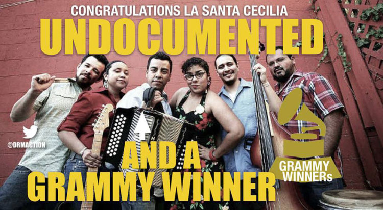 La Santa Cecilia Wins Grammy for 11 Million Undocumented in USA
