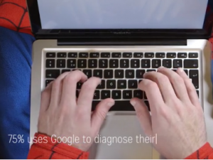 SEM campaign asks sick people not to Google their symptoms