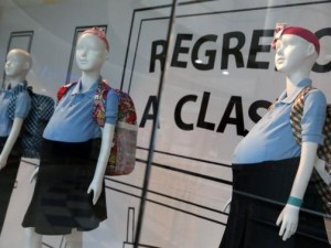 Pregnant teen mannequins shock and shame in Venezuela