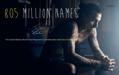 805 Million Names with Zlatan Ibrahimović