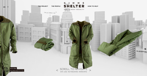 Acción Humanitatis: Gimme Shelter: Made to resist inequality