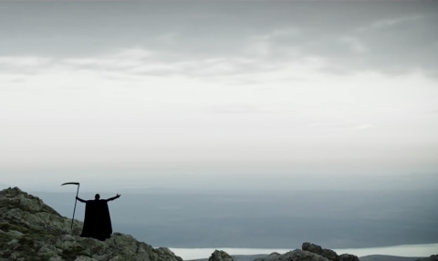 Grim Reaper Sings the Song About Water for Unicef