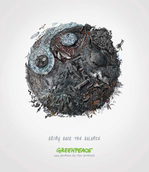 Greenpeace India Bring Back Balance Yin Yang