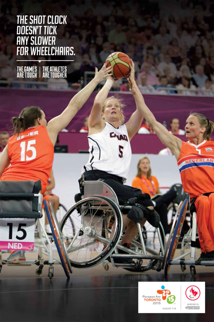 Canadian Paralympic Committee Toronto 2015 Parapan Am Team
