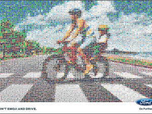 First video made entirely of emojis: Don't Emoji and Drive
