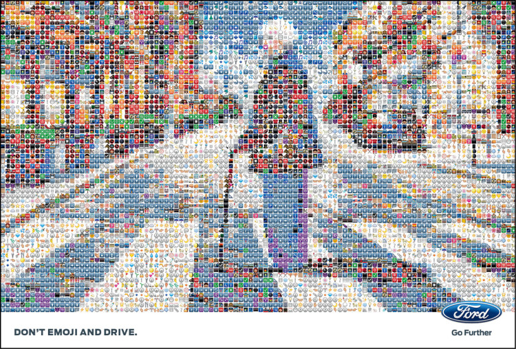 Ford: Don't Emoji and Drive