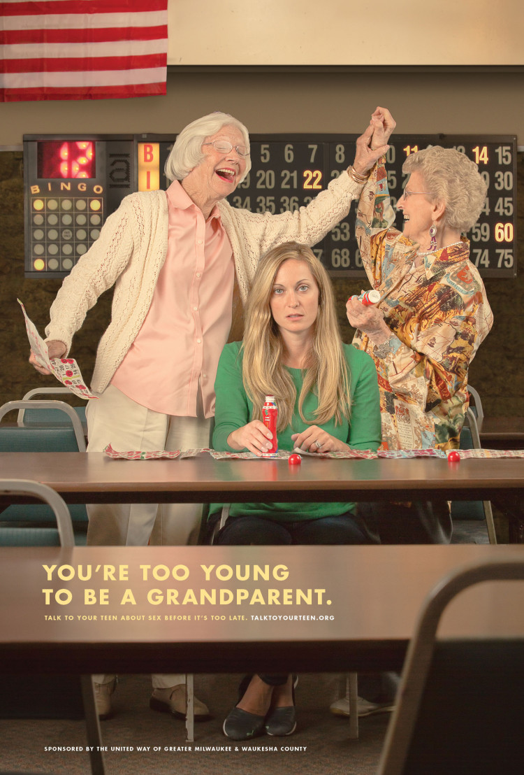 BabyCanWait Greater Milwaukee Youre Too Young To Be a Grandparent