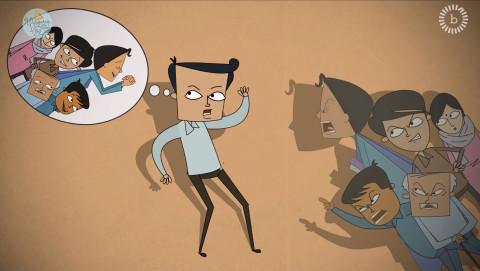 The Desirable Man - A Short animated film for Breakthrough India