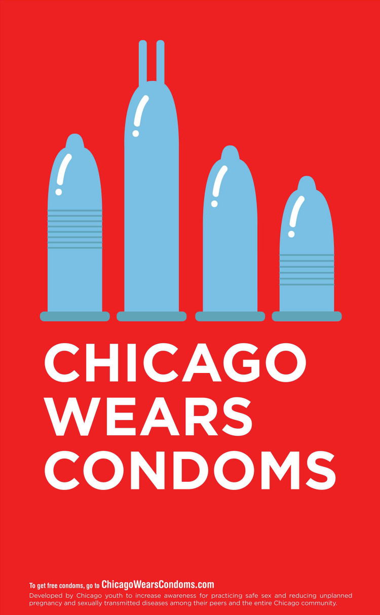 Chicago Wears Condoms Campaign