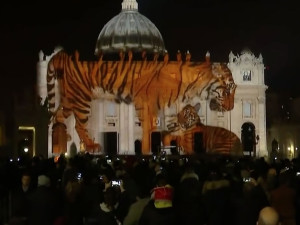 Endangered species took over the Vatican in spectacular art project