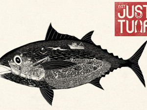 Art is essential in this activist campaign about tuna