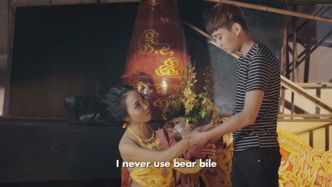 Vietnamese celebrities urges public not to use bear bile