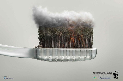 WWF We breathe what we buy