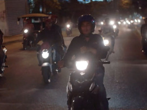 The nights in Phnom Penh are full journalists and road fatalities