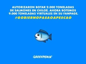 People react and pay back with fish emoji's #GobiernoPasaoAPescao