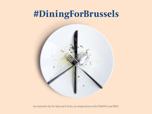 Belgians fight back with knife and fork