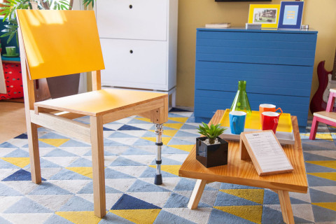 Efficient Furniture Campaign for the Institute of Social Technology ITS Brasil