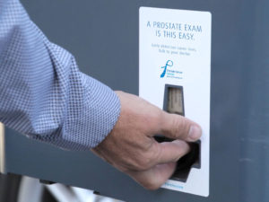 How is a parking pass machine like a prostate exam?