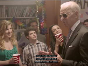 VPOTUS Joe Biden goes undercover for consent