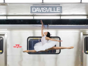 A beautiful, artistic, and surprisingly controversial transit campaign