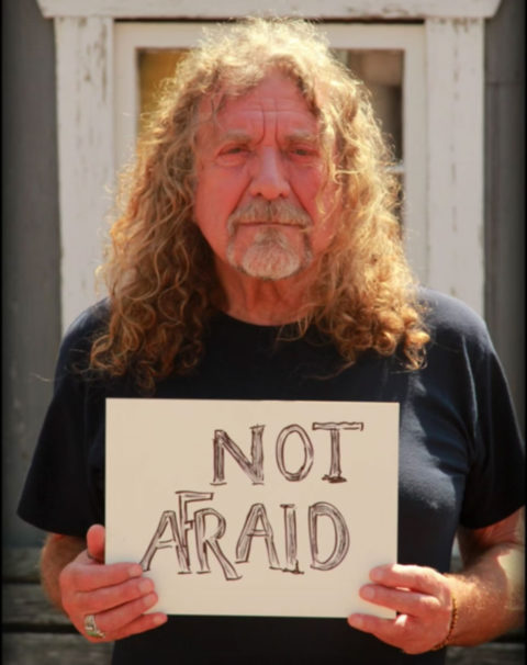 not afraid robert plant