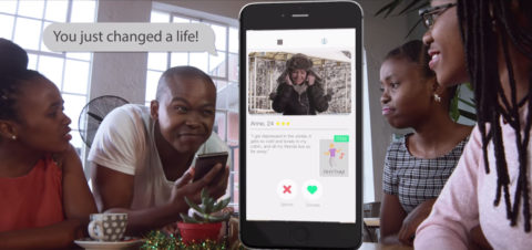 The Radi-Aid App: Change A Life With Just One Swipe