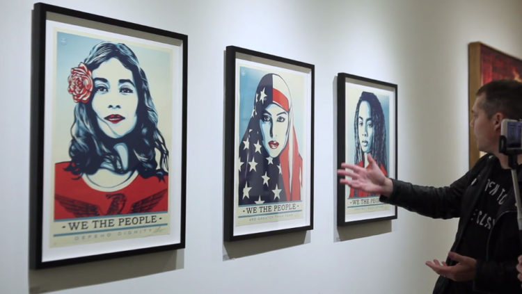 Shepard Fairey about We The People