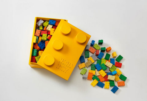 Learning Braille With Bricks Dorina Nowill Foundation