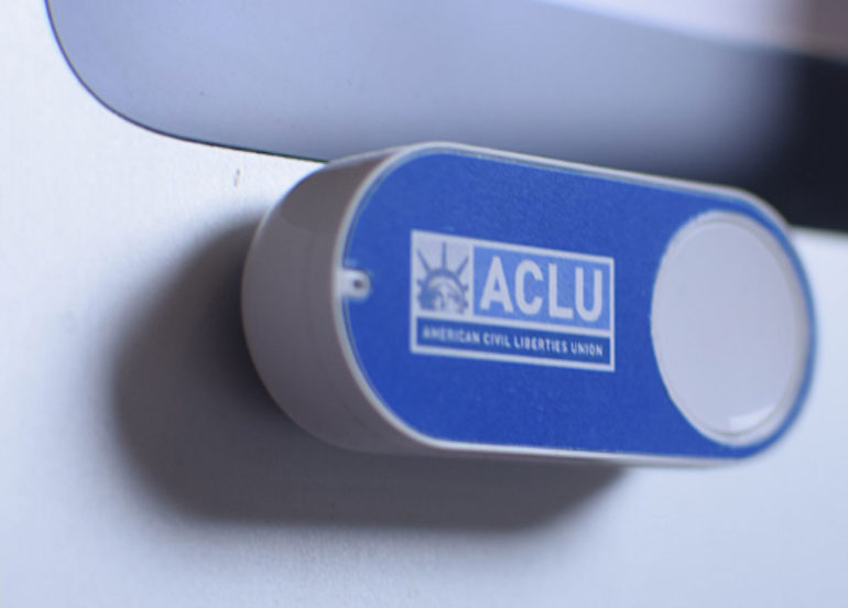 ACLU Dash Button turns political anger into action