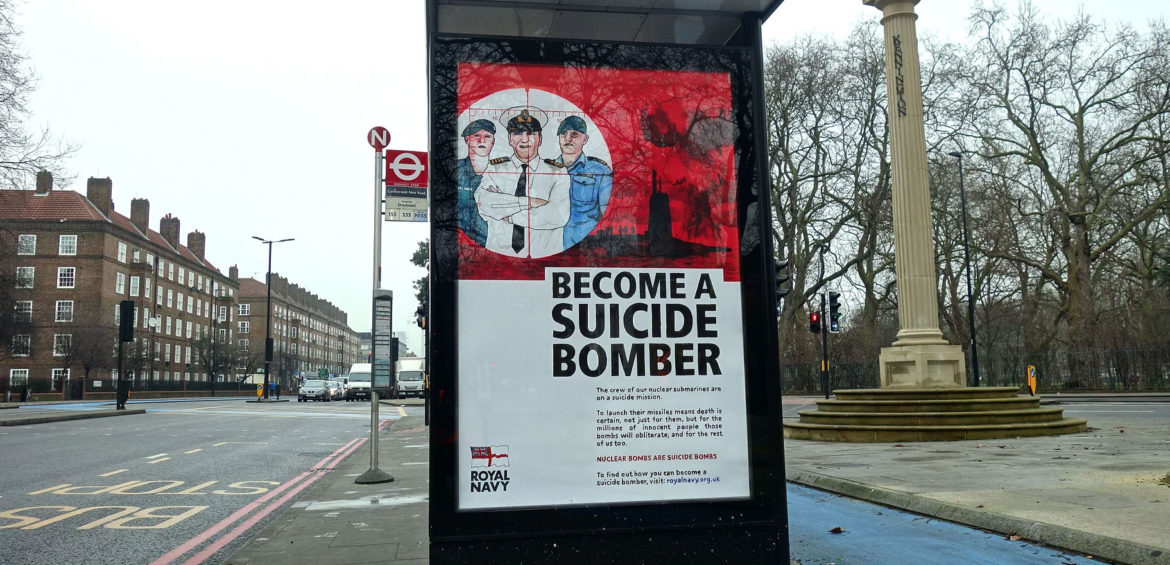 Royal Navy Become A Suicide Bomber
