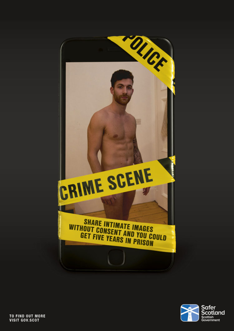 Scottish government declares revenge porn a crime scene
