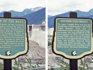 Archaeologist seeks to #RewriteBC colonial history with altered signs