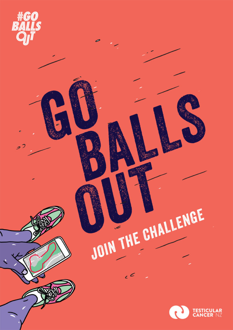 Testicular Cancer Foundation New Zealand #GOBALLSOUT